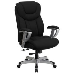 Bolvan Big and Tall Executive Swivel Office Chair with Adjustable Arms