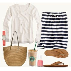 """Saturday Morning Errands"" by tjmcd on Polyvore"