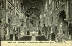 Our Lady of Mercy, Broad St & Susquehanna Ave - interior