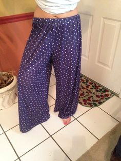 Handmade palazzo pants