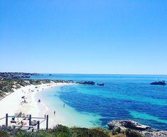 Idyllic Rottnest Island #perth #rottnestisland #australia #westernaustralia #oz #coastal #whitebeaches #sea #beautiful #instapic #snorkelling #bluesea by bonnie.pearce http://ift.tt/1L5GqLp
