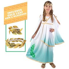 Spooktacular Creations Deluxe Mermaid Costume Set with Red Wig and Headband Toddler 3-4