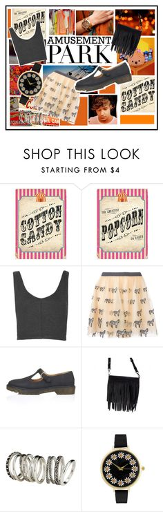 """""""Amusement"""" by alejandraf101 ❤ liked on Polyvore featuring Payne, MSGM, Topshop, Alice + Olivia, H&M and ASOS"""