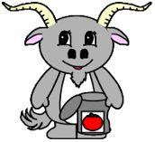 Goat Paper Craft