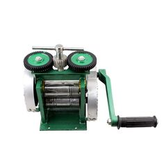 Crimping & Tablet Press Machine Jewelry Mini Rolling Mill Tool and Pressure Equipment Hand Rolling Mill Machine