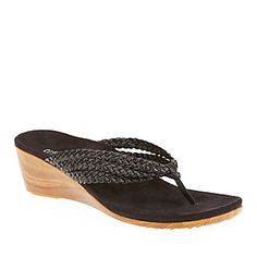 Orthaheel Women's Ramba Thong Sandals :: Women's Shoes :: Wellness Shoes :: FootSmart