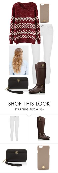 """It's so cold today! "" by madelyn-abigail ❤ liked on Polyvore featuring Chan Luu, Tory Burch, women's clothing, women's fashion, women, female, woman, misses and juniors"