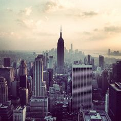 This is New York city. I went there this summer and I really liked it. Their are so much people, if you go there stay with someone or you'l get lost. By the way if you go there, their are so much to see, but I suggest you to go see Broadway it's awsome.