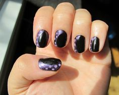 Disney Villain Ursula Manicure. Little Mermaid manicure. great for Halloween.