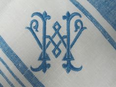 Tuscany napkins at www.bestmonogram.com