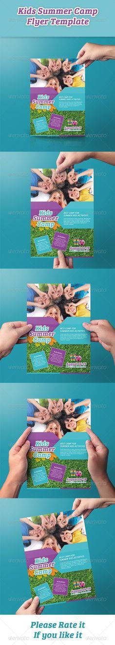 Kids Summer Camp Flyer - Events Flyers
