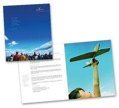 A second sales brochure was also developed and printed in multiple languages to serve their global audience Languages, Printed, Speech And Language