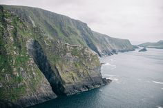 take a wind-whipped stroll along Ring of Kerry's Most Spectacular Cliffs in Ireland.