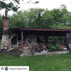 Repost @angus7graham with @repostapp.  TBT : I worked for Chris Gustin from the summer of 2005 to the fall of 2007. It was two of the best years of my life and I was lucky enough to build this kiln with Chris and one other assistant. I am forever grateful for this opportunity and it's always fun to come back and visit South Dartmouth Mass.  | by woodfiredpotterykilns