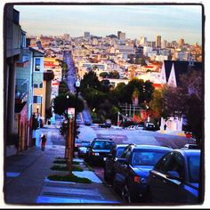 Streets of SF! Noe valley