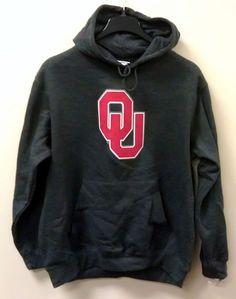 Just $29.99 and FREE SHIP !! Oklahoma Sooners OU Hoodie Sweatshirt NEW/NWT XL Gray NCAA FREE SHIP Hand Warmer #MajesticSection101 #OklahomaSooners #OU #Sooners #UniversityofOklahoma #polyvore #shopstyle #NCAA