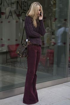 Easy style  #burgundy #winterlook