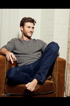 """Scott Eastwood-  """"What do you have in that glass and can I get you another?"""" lol"""