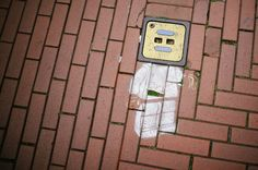 Clever street art by Edwin van Nuil in Eindhoven, The Netherlands