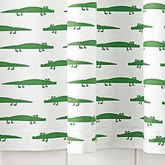 Alligator Shower Curtain