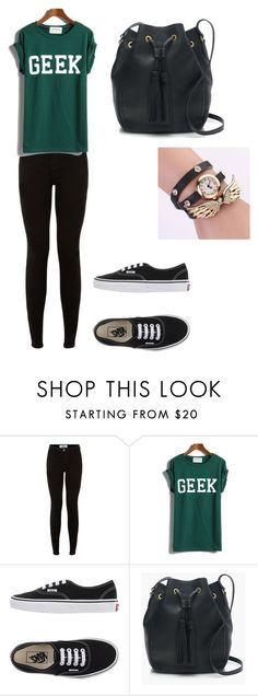"""""""Untitled #95"""" by taylor-ross115 on Polyvore featuring Vans and J.Crew"""
