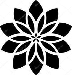 Art Deco Pattern, Stencil Patterns, Stencil Designs, Pattern Design, Stencil Templates, Manga Mandala, Mandala Dots, Mandala Pattern, Mandala Stencils