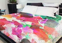The Bold & Colorful Bed