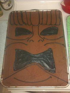 Tiki cake for my Grandpas 90th Birthday