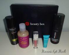 Target Beauty Box – April 2015