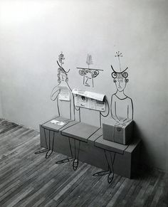 Paperwalker: Inspiration: Saul Steinberg