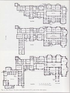 Bear Wood floor plans! The rooms they had: Strangers Day Nursery, the Deed Room, WOW!!