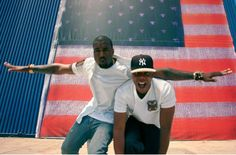 Kanye and jay Z...this Videos proceeds went to a charity in Uganda, Thats whats Up!!