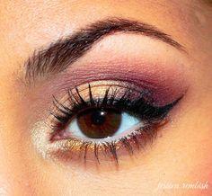 Birthday Girl – Makeup Geek - Brown Eyes - Eye Makeup - ohsojess - Jessica Rembish
