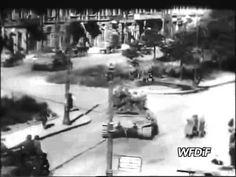 Wyzwolenie Pragi. Desant na lewy brzeg Wisły. - YouTube