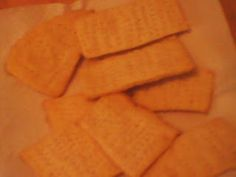David's Culinary Page: Homemade Chicken-in-a-Biscuit Crackers