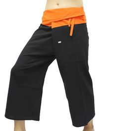 A personal favorite from my Etsy shop https://www.etsy.com/listing/285920339/fisherman-pants-100-cotton-with-packet