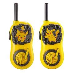Pokemon Pikachu FRS Walkie Talkies for Kids Long Range Static Free Kid Friendly Easy to Use 2 Way Walkie Talkies 17 Kpop, Project Mc2, Cool Pokemon, 2 Way, Creative Thinking, Easy To Use, Walkie Talkie, Cool Stuff, Stuff To Buy