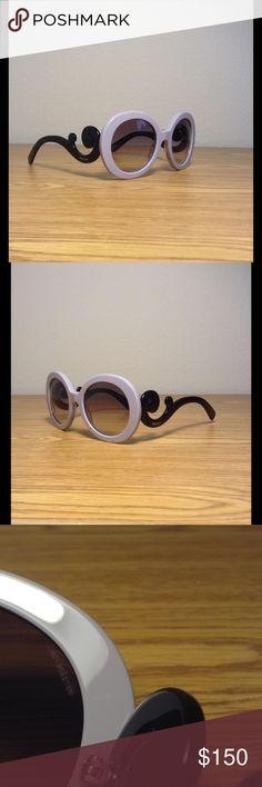 """Prada """"Baroque"""" PR27NS Sunglasses By Prada. Purchased from Zappos.com. Prada Accessories Sunglasses"""