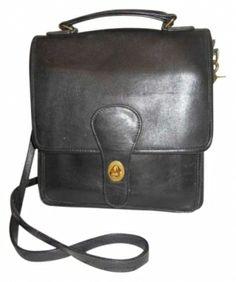 Coach Classic Black Cross Body Bag $59