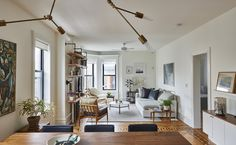 Skillful Design in a Charming Park Slope Apartment