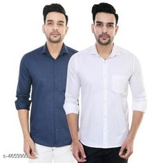 Shirts Designer Men Shirts Fabric: Satin Sleeve Length: Long Sleeves Pattern: Solid Multipack: 2 Sizes: XL (Chest Size: 42 in Length Size: 30 in)  L (Chest Size: 40 in Length Size: 29 in)  M (Chest Size: 38 in Length Size: 28 in) Country of Origin: India Sizes Available: M, L, XL   Catalog Rating: ★4 (441)  Catalog Name: Comfy Men Shirts CatalogID_676188 C70-SC1206 Code: 184-4659909-5121