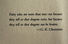 Of Fairy Tales and Dragons