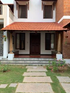 Indian Home Design, Kerala House Design, Unique House Design, House Front Design, Chettinad House, Kerala Traditional House, Vernacular Architecture, Kerala Architecture, Interior Architecture