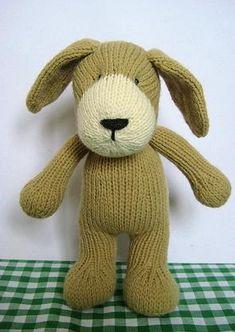 Puppy in Aran by Amanda Berry - Digital Version – Deramores Knitting Projects, Knitting Patterns, Sewing Projects, Knitting Ideas, Bear Toy, Teddy Bear, Polar Bear, Crochet Toys, Knit Crochet
