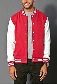 Classic Varsity Jacket | 21 MEN - 2000071272