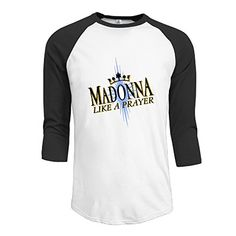 Madonna Like A Prayer 1989 Raglan Shirt. S to XXL