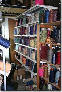 Bobines de fils à tricoter Destoclaine