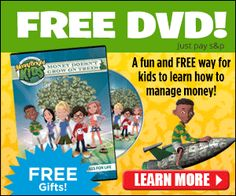 FREE Money Bright Kids DVD + 3 Free Gifts! (Just Pay S&H) | Get FREE Samples by Mail | Free Stuff