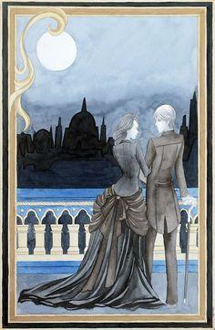 Jem and Tessa to blackfriars bridge - Tarot Cassandra Jean