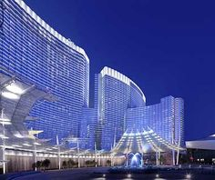 The Aria Resort and Casino, within MGM's new City Center complex on the Las Vegas Strip, may be the most technologically advanced hotel ever built. Vegas Vacation, Las Vegas Trip, Las Vegas Hotels, Dream Vacations, Nevada, Aria Las Vegas, Restaurant Hotel, Casino Hotel, Great Hotel